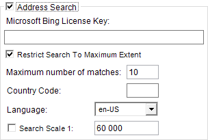Address Search Publisher